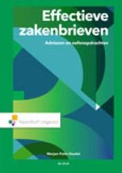 Effectieve zakenbrieven -adviezen en oefenopdrachten Palm-Hoebe, Marjan