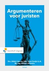 Argumenteren voor juristen Dijk, A.J. van