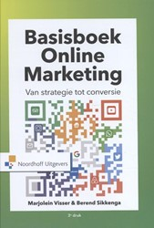 Basisboek online marketing -van strategie tot conversie Visser, Marjolein