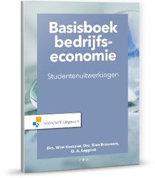 Basisboek bedrijfseconomie-studentenuitw Koetzier, Wim