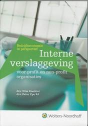 Interne verslaggeving voor profit en non Koetzier, Wim