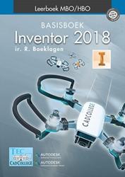 Inventor 2018 basisboek -leerboek MBO/HBO Boeklagen, Ronald