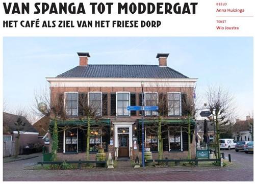 Van Spanga tot Moddergat -Het cafe als ziel van het Fri ese dorp Joustra, Wio