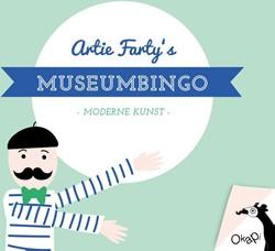 Okapi Artie Farty's museumbingo (se -moderne kunst Slingelandt-Asselbergs, Nicoline