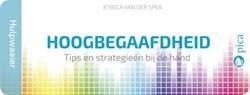 Hulpwaaier hoogbegaafdheid -tips en strategieen bij de ha nd Spek, Jessica van der