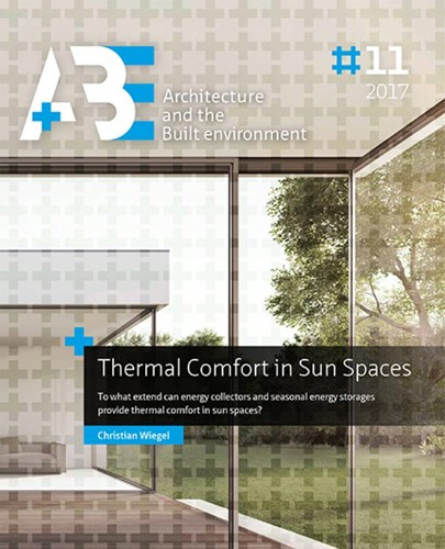 Thermal comfort in sun spaces -to what extend can energy coll ectors and seasonal energy sto Wiegel, Christian