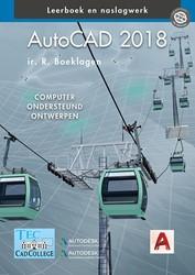 AutoCAD 2018 -computer ondersteund ontwerpen Boeklagen, R.
