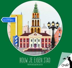 Okapi Bouw je eigen stad Groningen (set -knippenvouwenplakken Graaf, Helga de