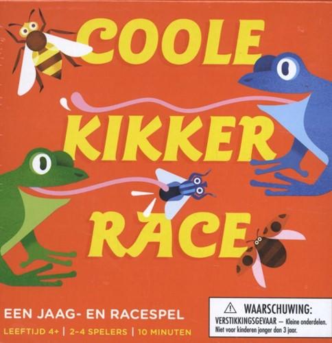 Coole kikker race -Heb jij als eerste je buik vol van insecten?