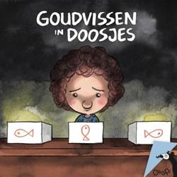 Okapi Goudvissen in doosjes (set van 5) Vendel, Edward van de