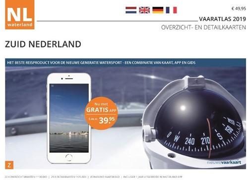 NLWaterland app incl. wateratlas Nederla