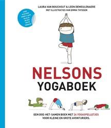 Nelsons yogaboek -een doe-het-samen-boek met 24 yogaspelletjes voor kleine en Demeulenaere, Leen