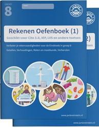 Rekenen Oefenboeken Compleet -Geschikt voor Cito, IEP, LVS e n andere toetsen delen 1 en 2