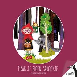 Okapi Maak je eigen sprookje (set van 5) -knippenvouwenplakken Graaf, Helga de