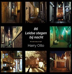 86 Leidse stegen bij nacht/86 Leiden all Otto, Harry