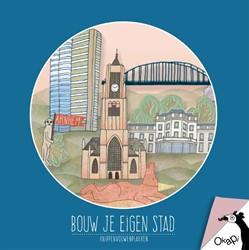 Okapi Bouw je eigen stad Arnhem (set van -knippenvouwenplakken Horchner, Esther