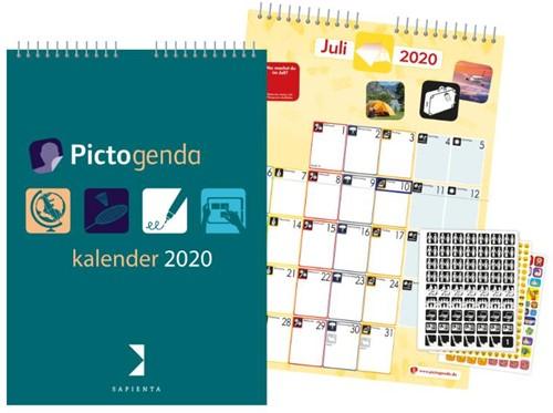 Pictogenda Kalender 2020 DE Tittse-Linsen, Martina