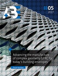 Advancing the manufacture of complex geo Henriksen, Thomas N.