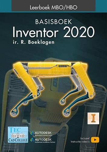 Inventor 2020 -Basisboek MBO/HBO Boeklagen, R.