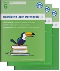 Begrijpend Lezen Oefenboeken Compleet -Leesstrategieen, uitleg hoofd doelen en woordenschat(hulp)