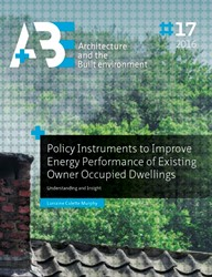 Policy instruments to improve energy per -understanding and insight Murphy, Lorraine Colette