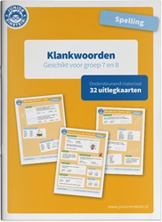 Spelling klankwoorden -Uitlegkaarten