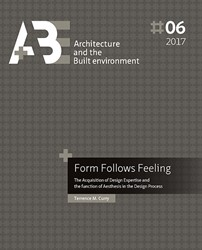 Form follows feeling -the acquisition of design expe rtise and the function of aest Curry, Terrence M.