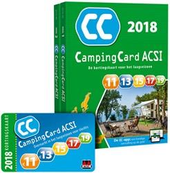CampingCard ACSI 2018 - set 2 delen ACSI