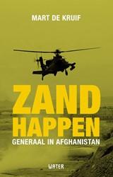 Zandhappen -Generaal in Afghanistan Kruif, Mart de