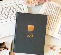 Purpuz Planner 2019 -Planner, agenda & lifecoac een - Stop Dromen | Start Doe Verkleij, Clen