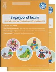 Begrijpend lezen oefenboeken compleet -geschikt voor de Citotoetsen?L VS-toetsen (1) groep 4