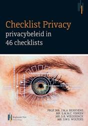 Checklist Privacy -privacybeleid in 46 checklists Berkvens, Jan