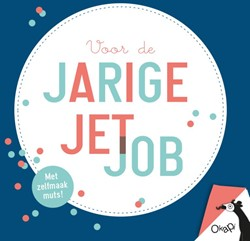 Okapi Voor de jarige Job/Jet (set van 5) -met zelfmaakmuts OrigamiZoo