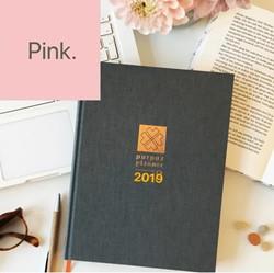 Purpuz Planner 2019 - PINK limited -Planner, agenda & lifecoac een. Verkleij, Clen