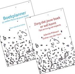 Boekplanner met boek -Zorg dat jouw boek er wel kom t Pikkaart, Jolanda