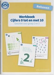 Rekenen -Werkboek Rekenen Cijfers 0 tm 10 voor groep 2 en 3