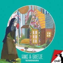Hans & Grietje (set van 5) -knippenvouwenplakken