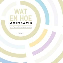 Wat en hoe voor het raadslid -een werkboek rechtstreeks vanu it de praktijk Pruim, Jan Dirk