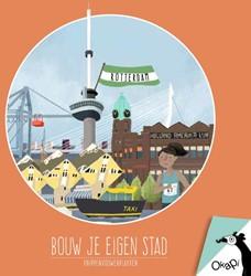 Okapi Bouw je eigen stad Rotterdam (set -knippenvouwenplakken Vries, Marloes de