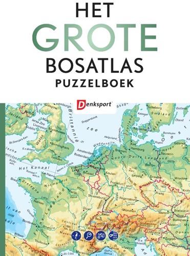 Het Grote Bosatlas puzzelboek Vroege, Peter