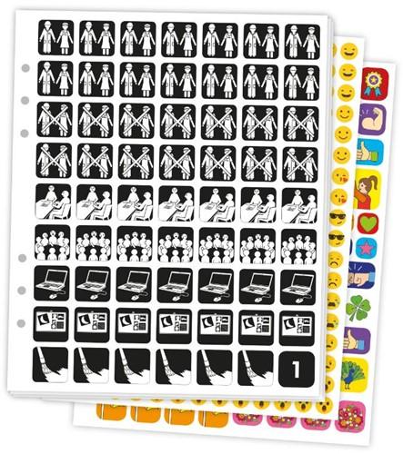 Pictogenda Stickervellen met pictogramme Tittse-Linsen, Martina