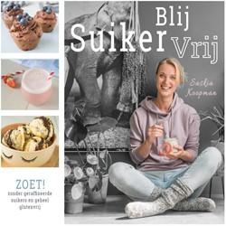 Blij Suikervrij Zoet! -zonder geraffineerde suikers e n geheel glutenvrij Koopman, Saskia