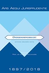 Ondernemingsrecht 1897-2018 Sangen, Ger van der