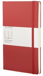 Moleskine Large Ruled Notebook Red RED
