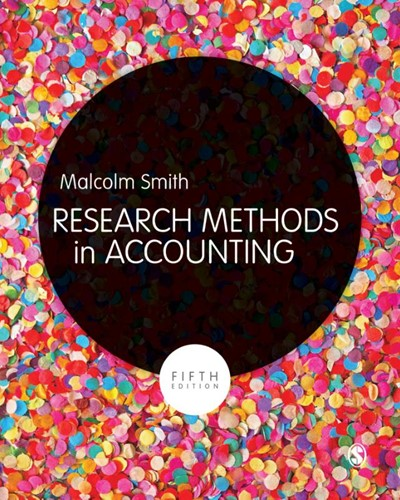 Research Methods in Accounting Malcolm Smith