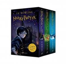 Harry Potter 1 - 3 Box Set -a Magical Adventure Begins Rowling, J.K.