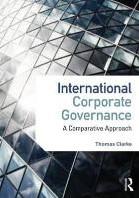 International Corporate Governance -A Comparative Approach Clarke, Thomas