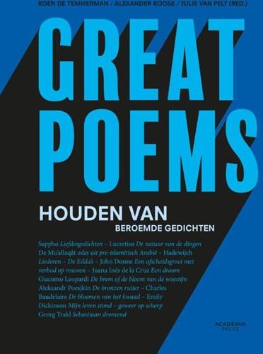 Great poems -Houden van beroemde gedichten Roose, Alexander