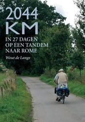2044 KM -IN 27 DAGEN OP EEN TANDEM NAAR ROME LANGE, WOUT DE