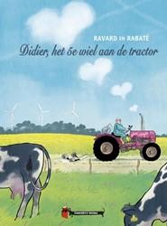 Didier, het 5e wiel aan de tractor Rabate, Pascal